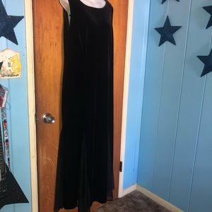 Ronni Nicole Dresses - Ronni Nicole 16 Black Goth Mesh inset Dress
